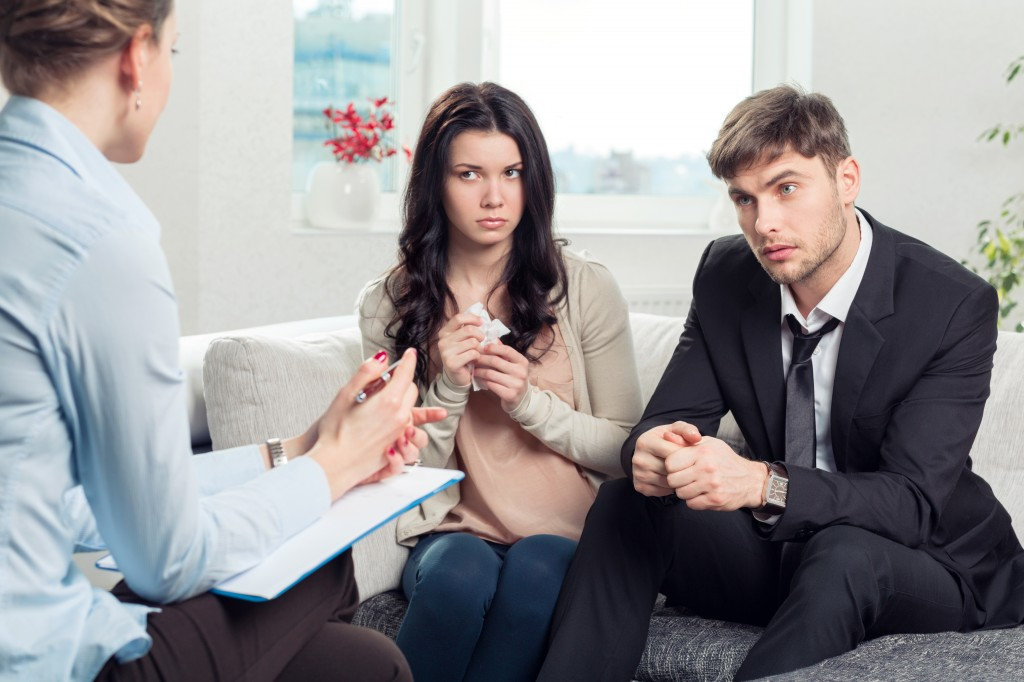 пара у психолога