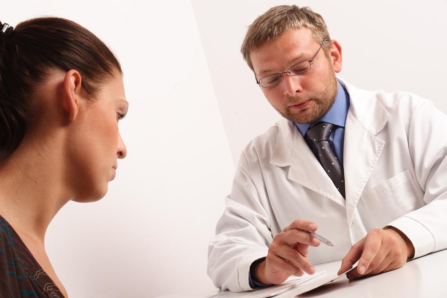 на приеме уролога-гинеколога